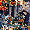 Public Market With Chilies by Scott Nelson
