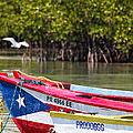 Puerto Rican Fishing Boats by George Oze