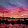 Punta Gorda Sunset by Sandy Poore