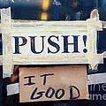 Push It Good by Kim Fearheiley