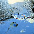 Pushing The Sledge by Andrew Macara