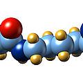 Pyrrolysine, Molecular Model by Dr Mark J. Winter