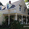 Quaint House Architecture - Benicia California - 5d18793 by Wingsdomain Art and Photography