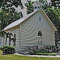 Quaker Church Pencil by Scott Hervieux