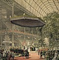Queen Victoria Presides At The State by Everett