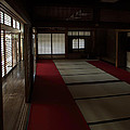 Quietude Of Zen Meditation Room - Kyoto Japan by Daniel Hagerman