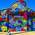 Rainbow Jug Building by Samuel Sheats