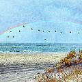 Rainbows And Wings II by Dan Carmichael