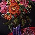 Recital Bouquet Print by Emily Michaud