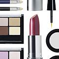 Rectangular Cosmetic Arrangement by Adrianna Williams