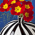 Red And Yellow Primrose by Garry Gay