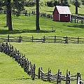 Red Barn On Highway 160 Near Pagosa by Rich Reid