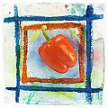 Red Bell Pepper by Igor Kislev
