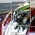 Red Pontiac Hood Ornament by Cathie Tyler