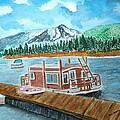 Redfish Lake by Don L Williams
