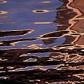 Reflection Patterns In The Waves by Paul Damien