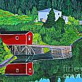 Reflections H D R by Barbara Griffin