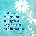 Refuge And Strength by Linda Woods
