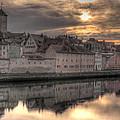 Regensburg Cityscape by Anthony Citro