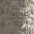 Relief. Detail View Of The Trajan Column. Rome by Bernard Jaubert