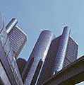 Renaissance Center In Detroit by Will & Deni McIntyre