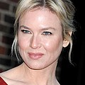 Renee Zellweger At Talk Show Appearance by Everett