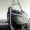 Retired Fishing Boat by Sharon Lisa Clarke
