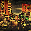 Retro College Avenue by Joel Witmeyer