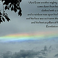 Revelation 10 Rainbow by Cindy Wright