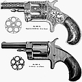 Revolvers, 19th Century by Granger