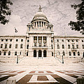 Rhode Island State House Print by Lourry Legarde