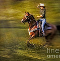 Riding Thru The Meadow by Susan Candelario