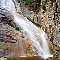 Ripley Falls - Crawford Notch State Park New Hampshire Usa by Erin Paul Donovan