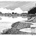 Riverwalk On The Pecos by Jack Pumphrey