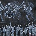 Rob Zombie Print by Gregory Davis