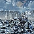 Robots Gathering Rich Mineral Deposits by Mark Stevenson