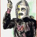 Rocket Man Print by Mel Thompson