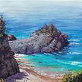 Rocky Coast Big Sur  by Graham Gercken