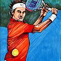 Roger Federer by Dave Olsen