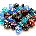 Role-playing Dices by Fabrizio Troiani