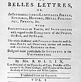 Rollin: Title Page, 1769 by Granger