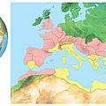 Roman Empire, Artwork by Gary Hincks