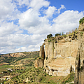 Ronda Cliffs In Andalusia by Artur Bogacki