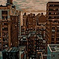 Rooftop Color 16 by Scott Kelley