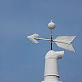 Rooftop of lighthouse Print by Gabriela Insuratelu