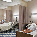 Room In Nursing School by Skip Nall
