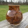 Root Beer Vase by Monika Hood