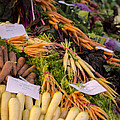 Root Vegetables At The Market by Heather Applegate
