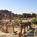 Ruins. Roman Forum. Rome by Bernard Jaubert