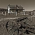 Rural Ontario Sepia by Steve Harrington